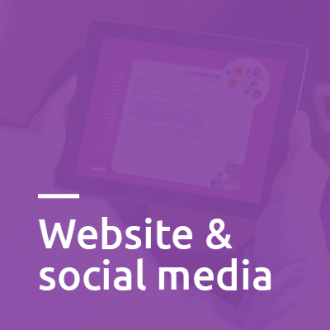 Website & social media